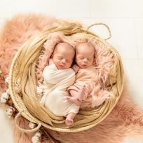 newborn fotografie twins